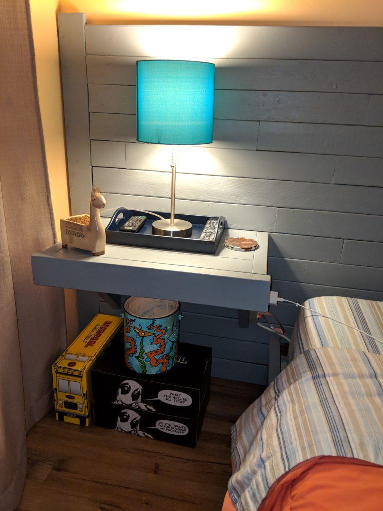 left nightstand