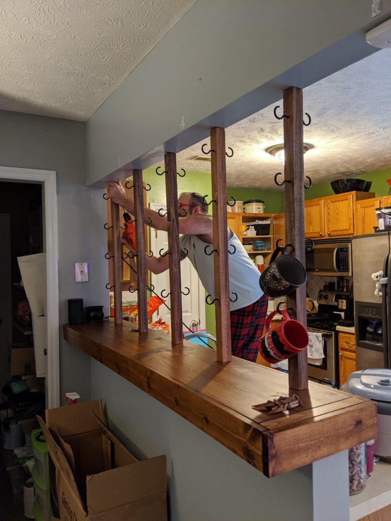 installing bars